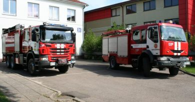 Praėjusiomis paromis Kaišiadorių ugniagesiams iškvietimų netrūko