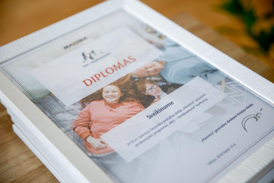 Mes - Bendruomene diplomas