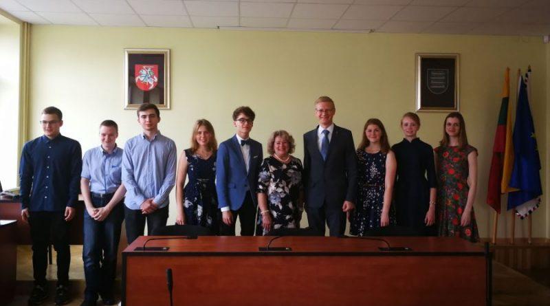 Apdovanoti Kaišiadorių rajono abiturientai pelnę šimto balų įvertinimus