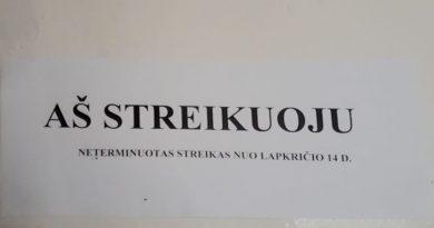 Prie streiko prisijungusioje Žiežmarių gimnazijoje visų mokytojų atlyginimai vidutiniškai didėjo 100 Eur