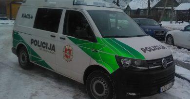 Kaišiadorių rajono policijos komisariatas gavo naują automobilį