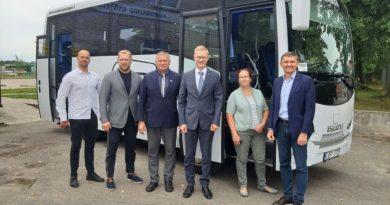 """SĮ """"Kaišiadorių paslaugos"""" įsigijo dar vieną naują autobusą"""