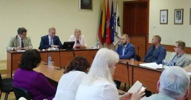 Savivaldybėje lankėsi LR socialinės apsaugos ir darbo ministerijos viceministrė Vilma Augienė