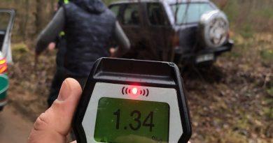 Kaišiadorių rajone pasipylė neblaivių vairuotojų bumas